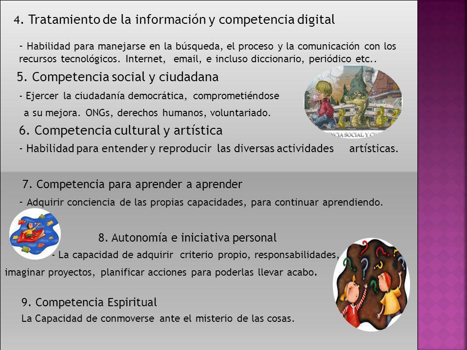 5. Competencia social y ciudadana