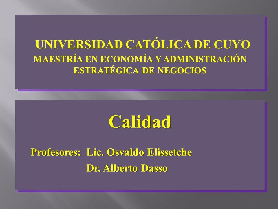 UNIVERSIDAD CATÓLICA DE CUYO MAESTRÍA EN ECONOMÍA Y ADMINISTRACIÓN ESTRATÉGICA DE NEGOCIOS