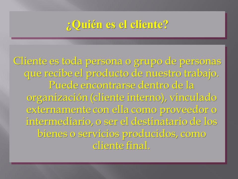 ¿Quién es el cliente