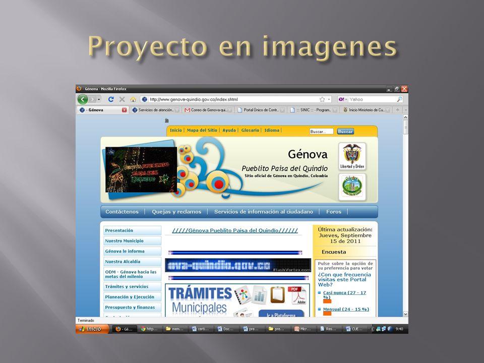 Proyecto en imagenes
