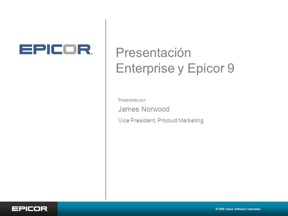 Presentación Enterprise y Epicor 9