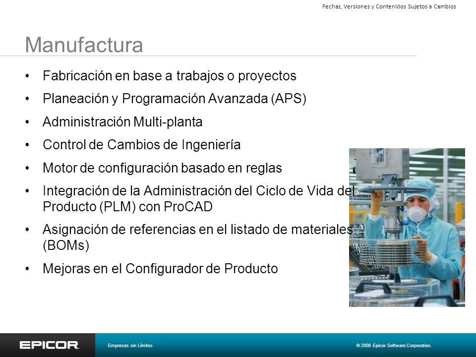 Manufactura Fabricación en base a trabajos o proyectos