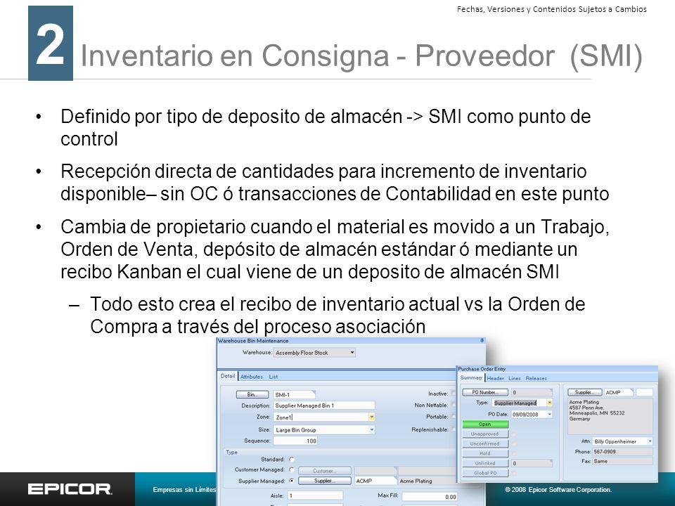 Inventario en Consigna - Proveedor (SMI)