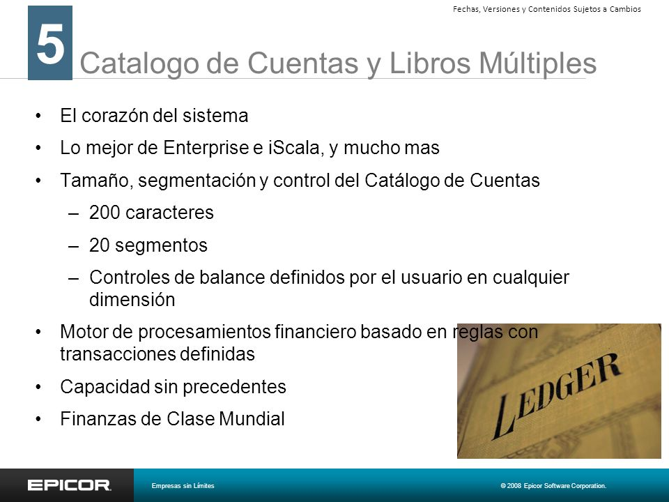 Catalogo de Cuentas y Libros Múltiples