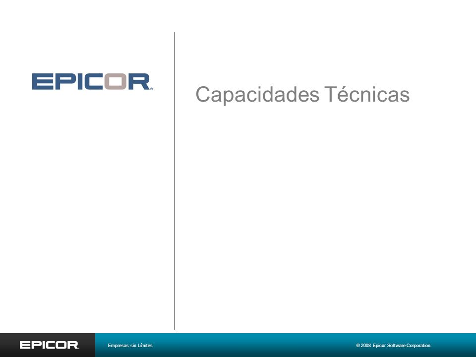 Capacidades Técnicas Malcolm Fox Senior Manager, Product Marketing