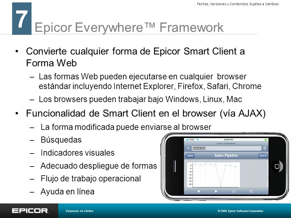 Epicor Everywhere™ Framework