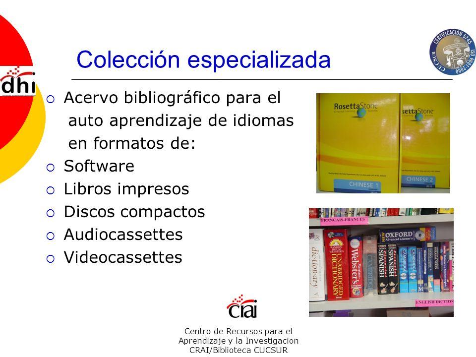 Colección especializada