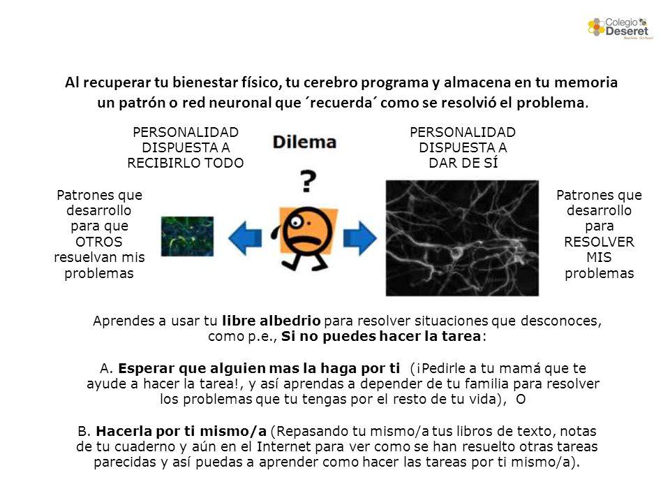 un patrón o red neuronal que ´recuerda´ como se resolvió el problema.