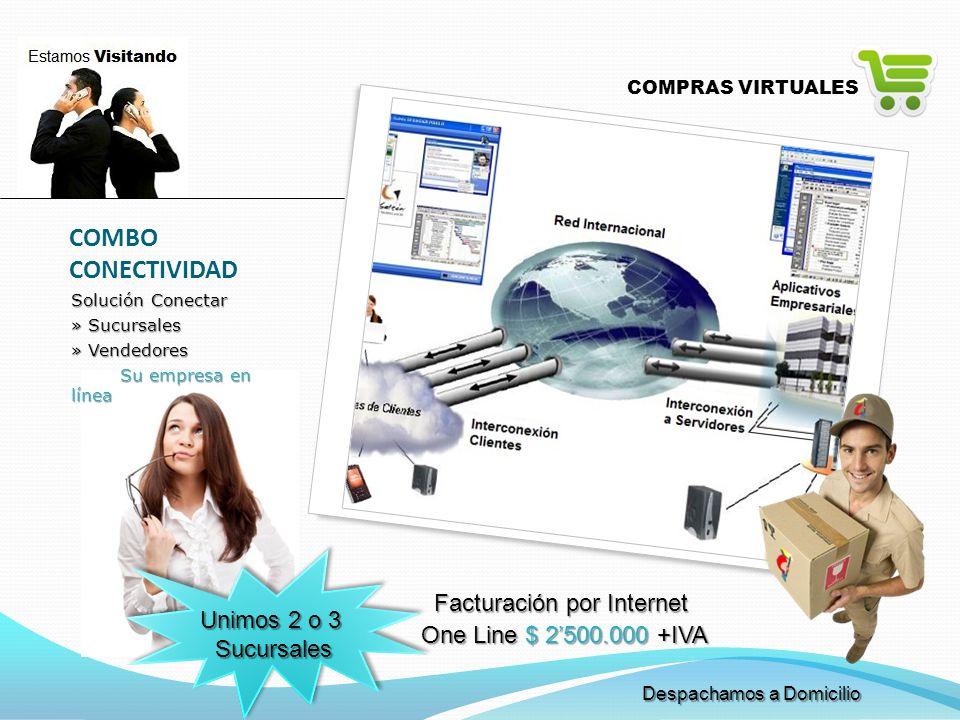 COMBO CONECTIVIDAD Facturación por Internet Unimos 2 o 3 Sucursales