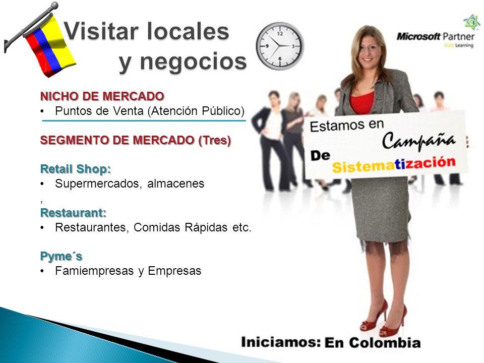 Visitar locales y negocios