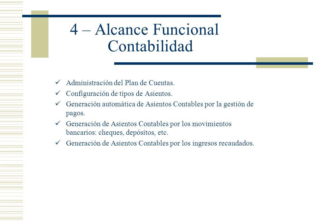 4 – Alcance Funcional Contabilidad