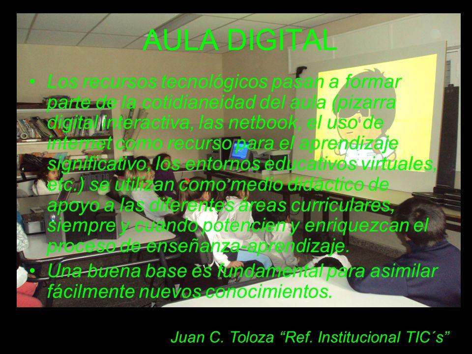 Juan C. Toloza Ref. Institucional TIC´s