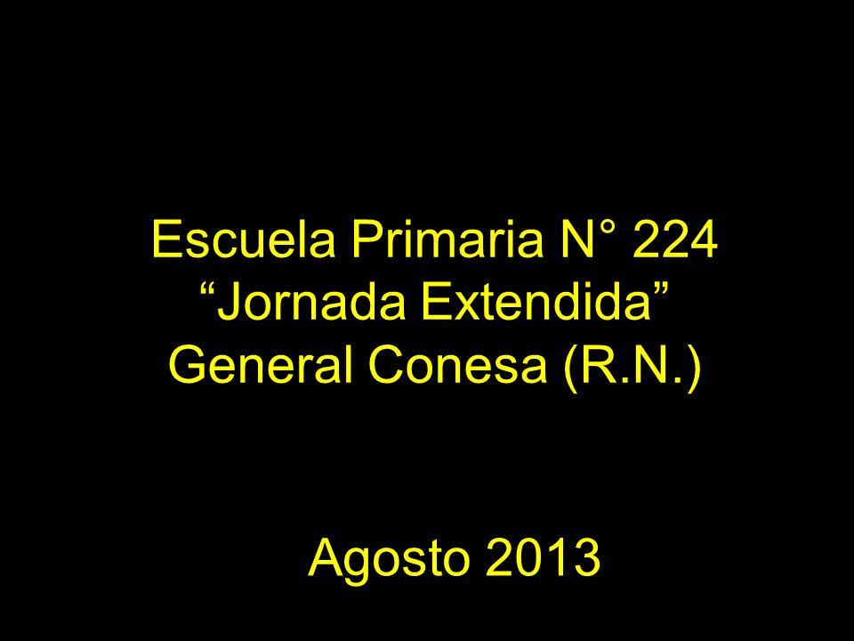 Escuela Primaria N° 224 Jornada Extendida General Conesa (R.N.)