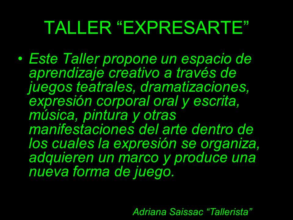 Adriana Saissac Tallerista