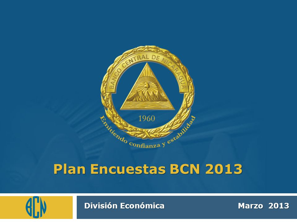 División Económica Marzo 2013