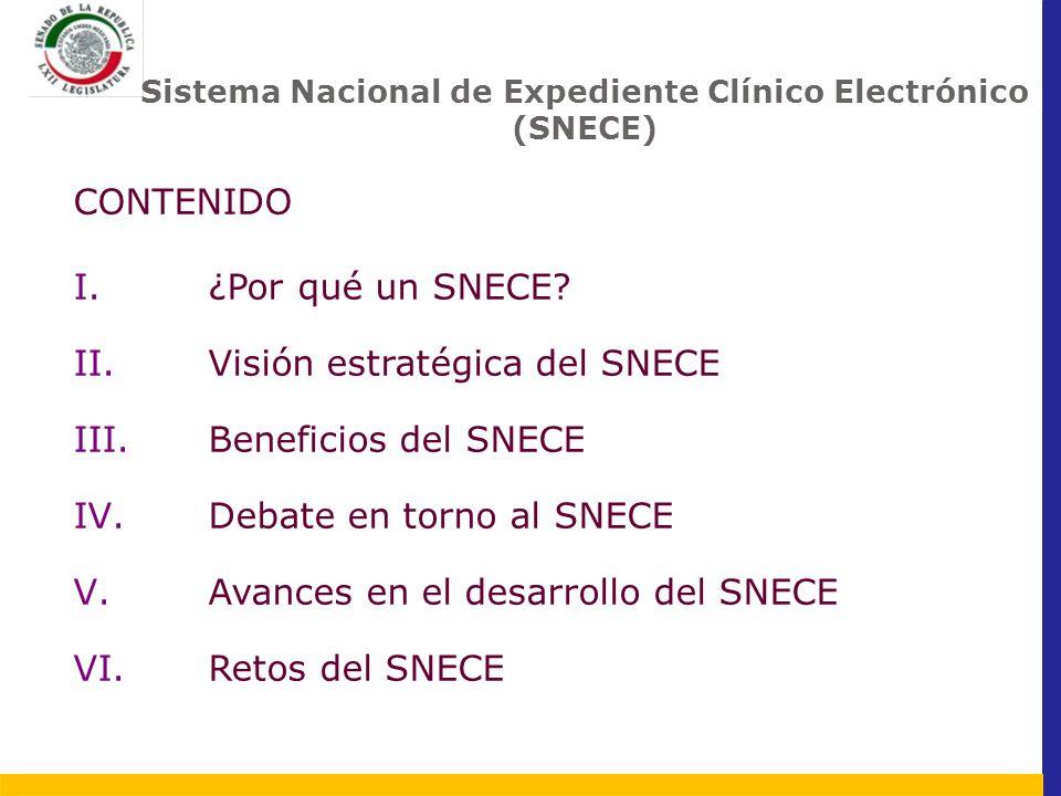 Sistema Nacional de Expediente Clínico Electrónico