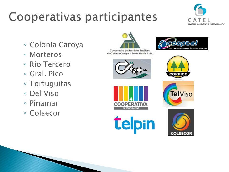 Cooperativas participantes
