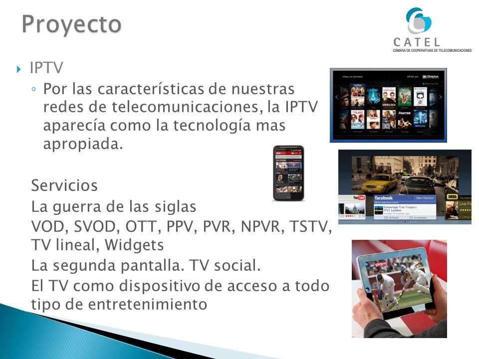 Proyecto IPTV Servicios