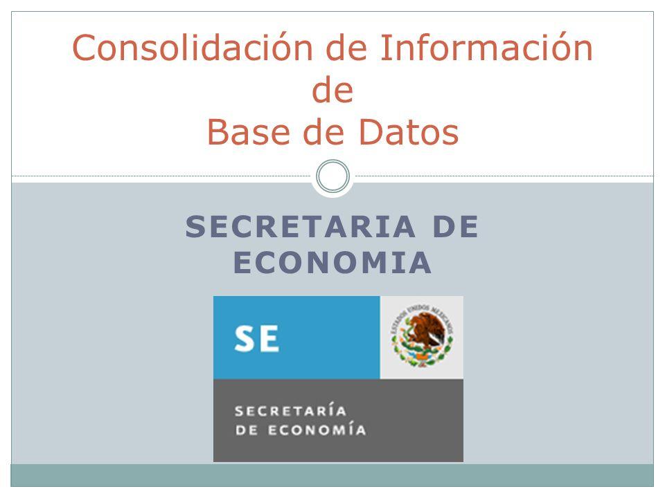 Consolidación de Información de Base de Datos