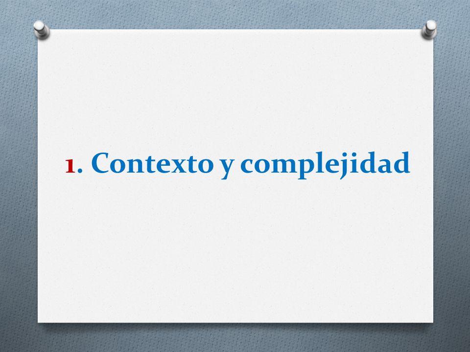 1. Contexto y complejidad