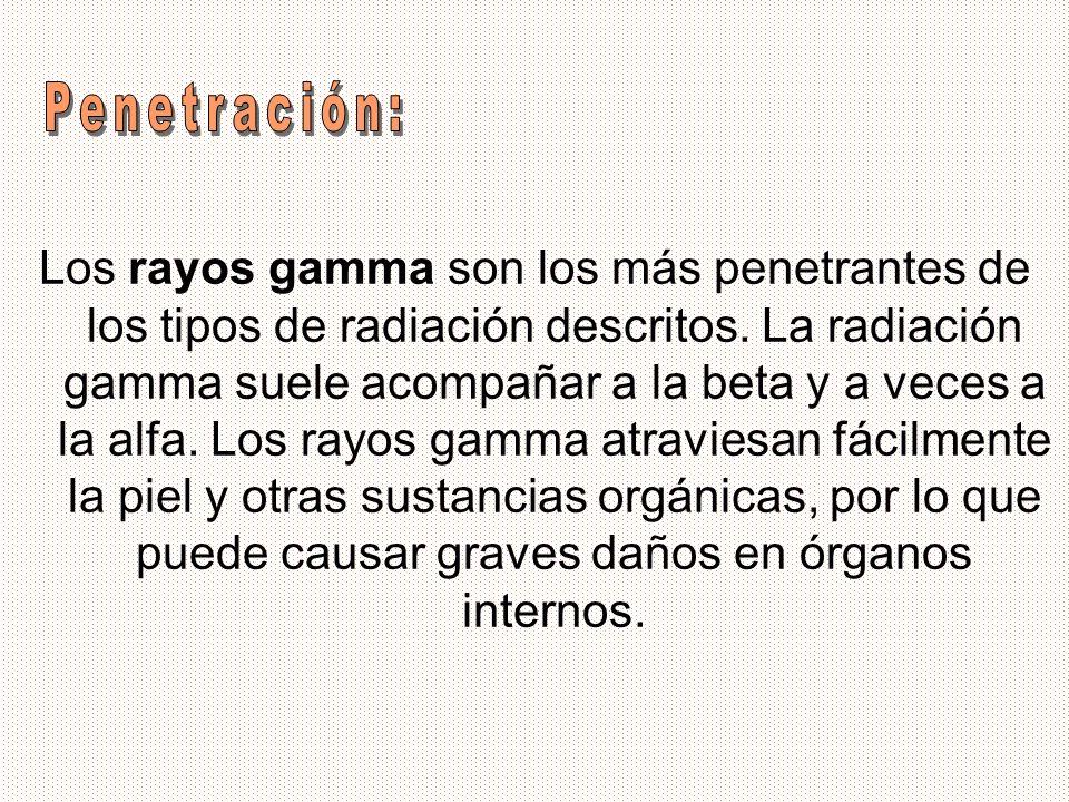 Penetración: