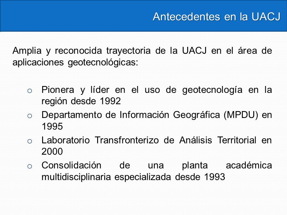 Antecedentes en la UACJ