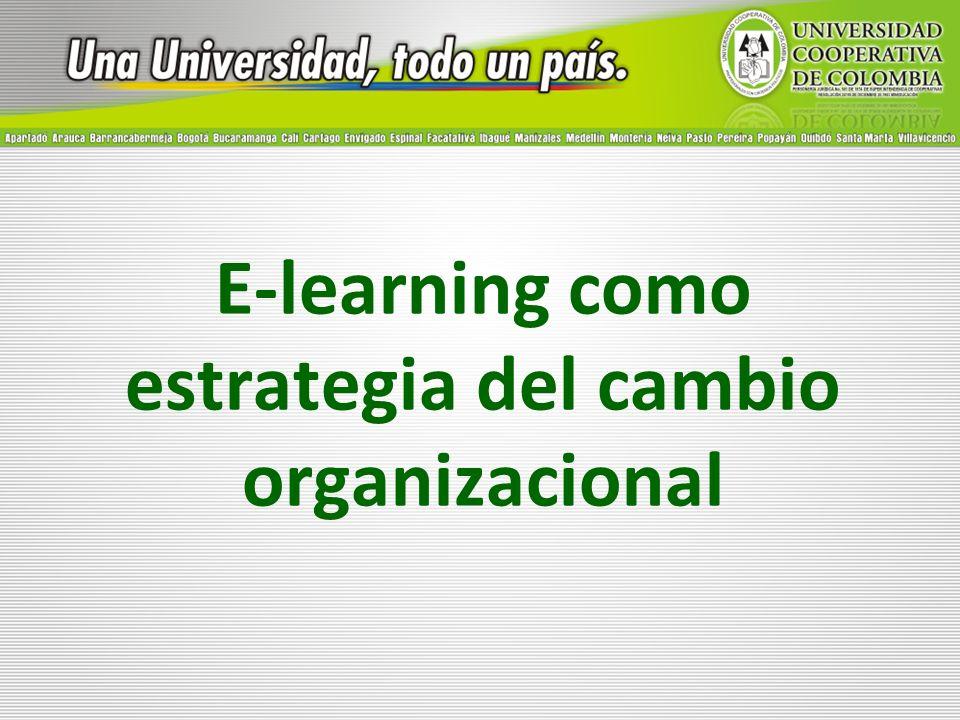 E-learning como estrategia del cambio organizacional