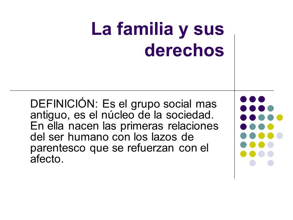La familia y sus derechos