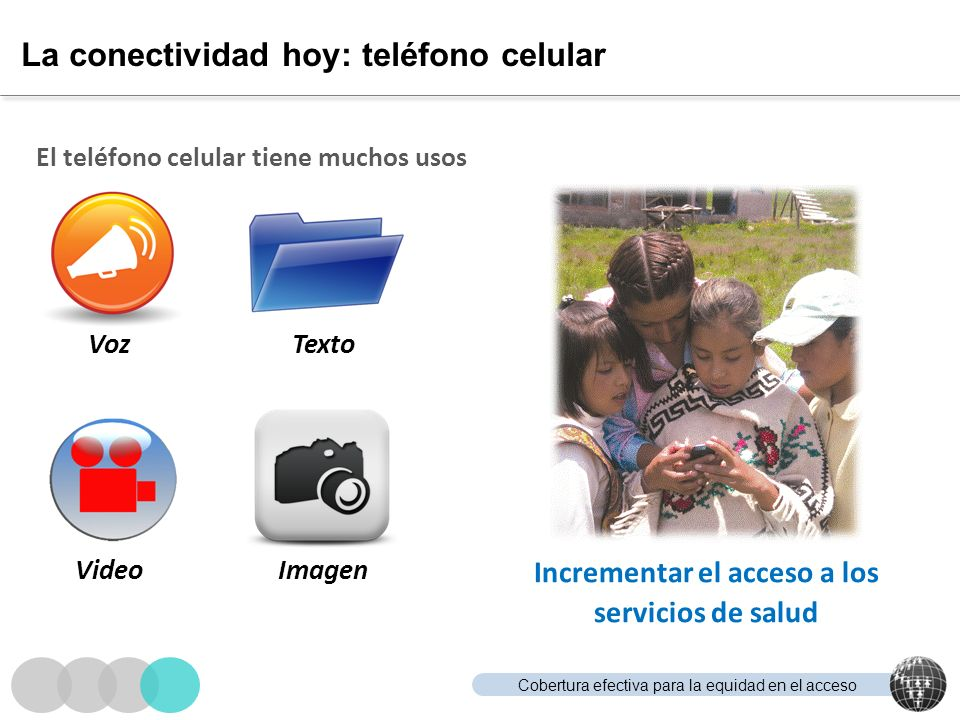 La conectividad hoy: teléfono celular