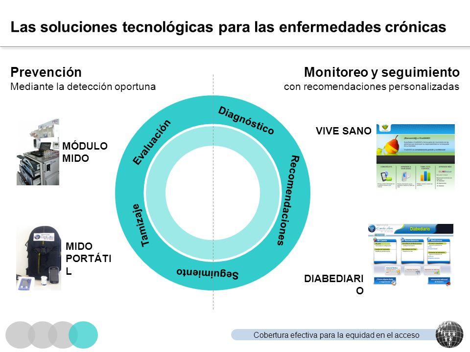 Las soluciones tecnológicas para las enfermedades crónicas