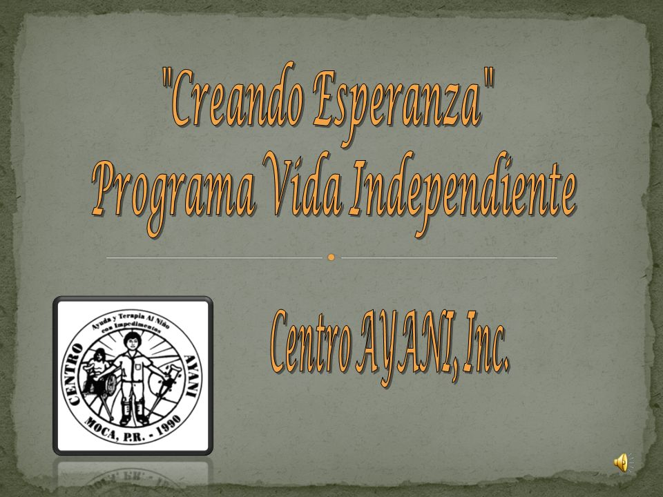 Programa Vida Independiente