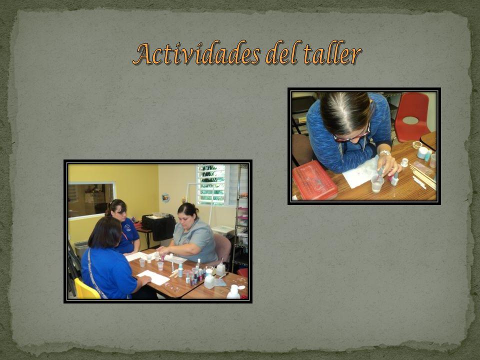 Actividades del taller