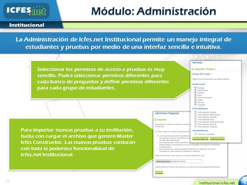 Módulo: Administración