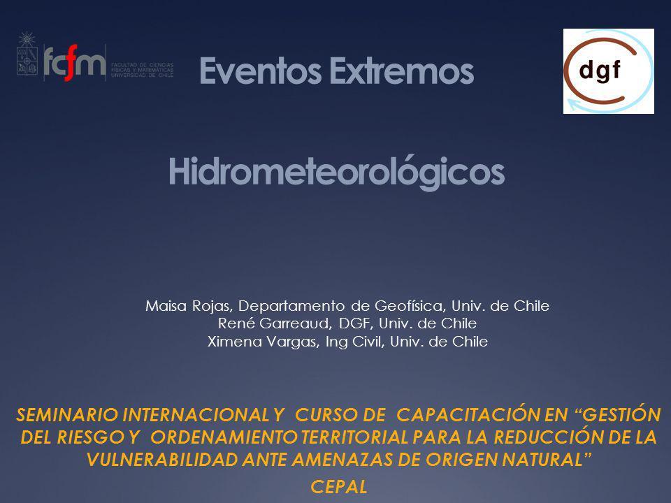Eventos Extremos Hidrometeorológicos