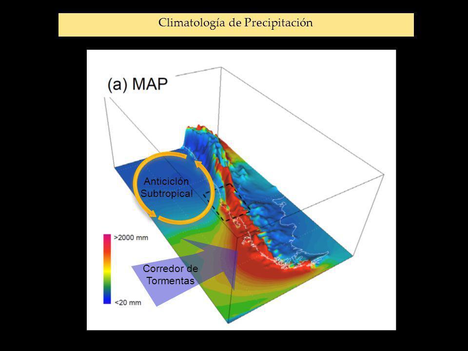 Climatología de Precipitación