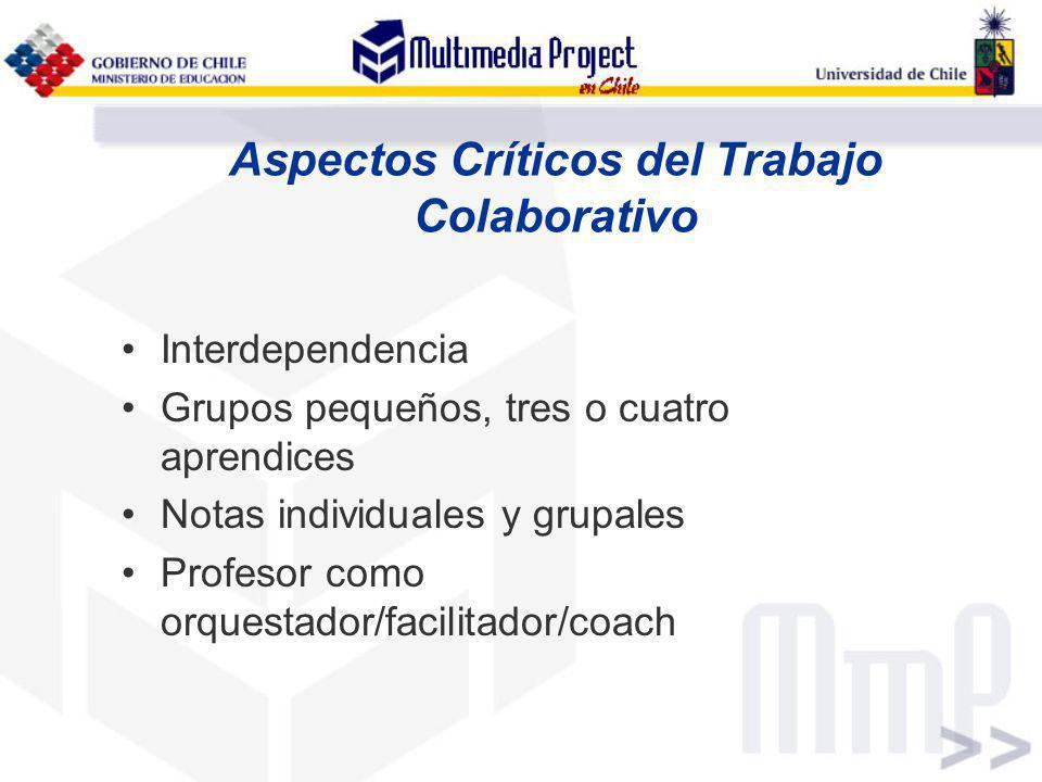 Aspectos Críticos del Trabajo Colaborativo
