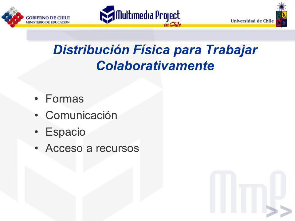 Distribución Física para Trabajar Colaborativamente