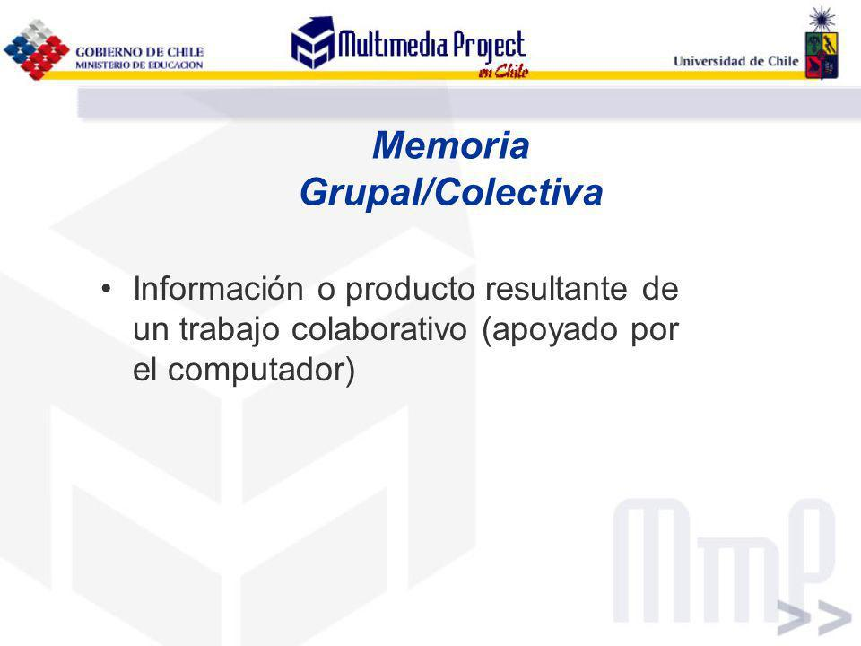 Memoria Grupal/Colectiva