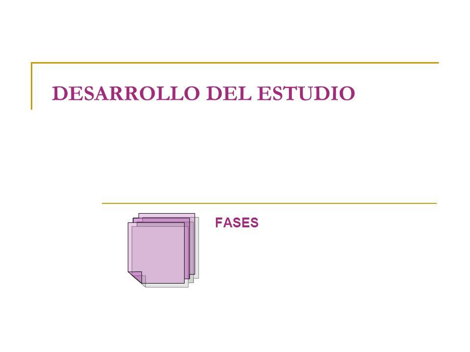 DESARROLLO DEL ESTUDIO