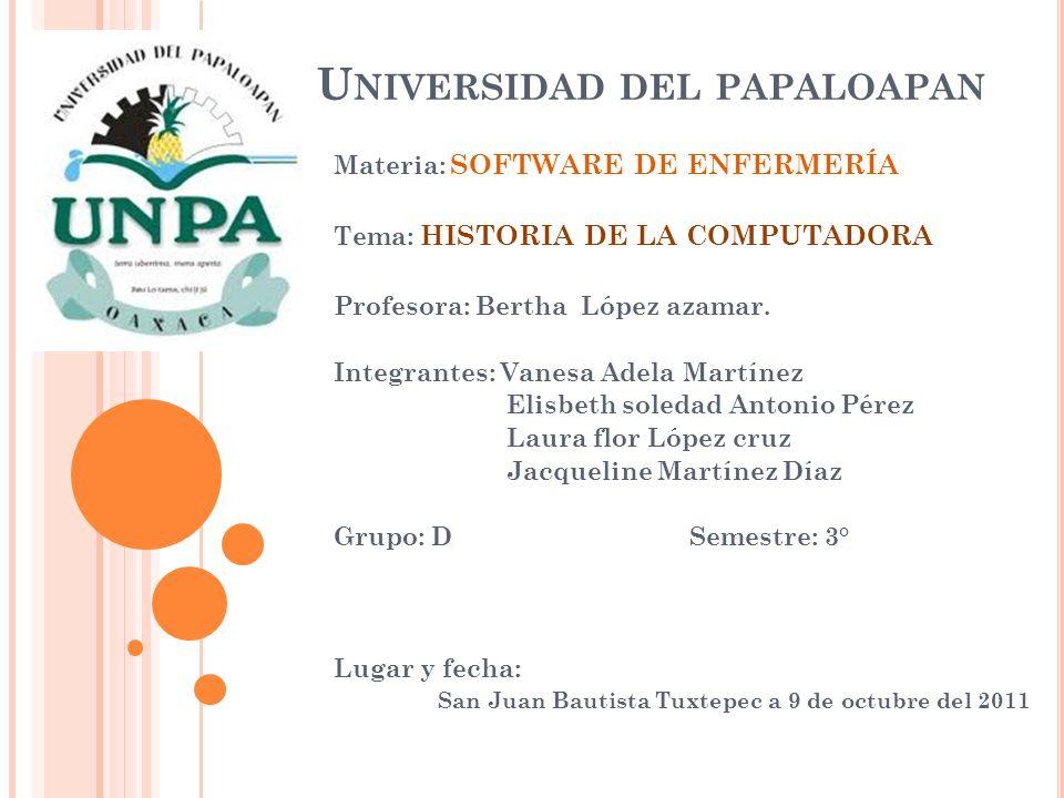 Universidad del papaloapan