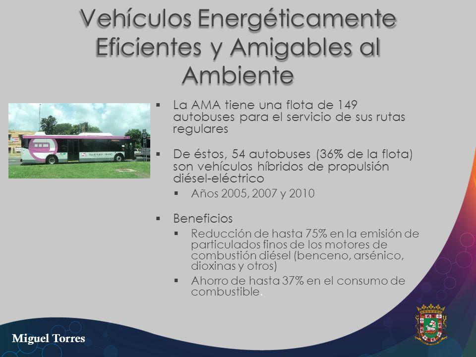 Vehículos Energéticamente Eficientes y Amigables al Ambiente