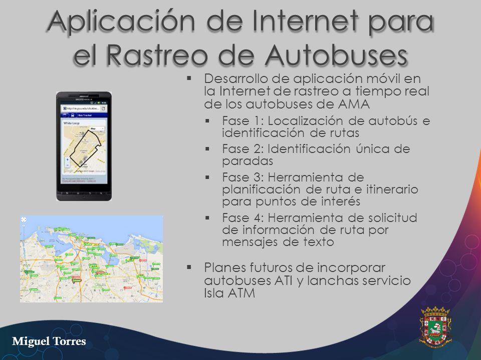 Aplicación de Internet para el Rastreo de Autobuses