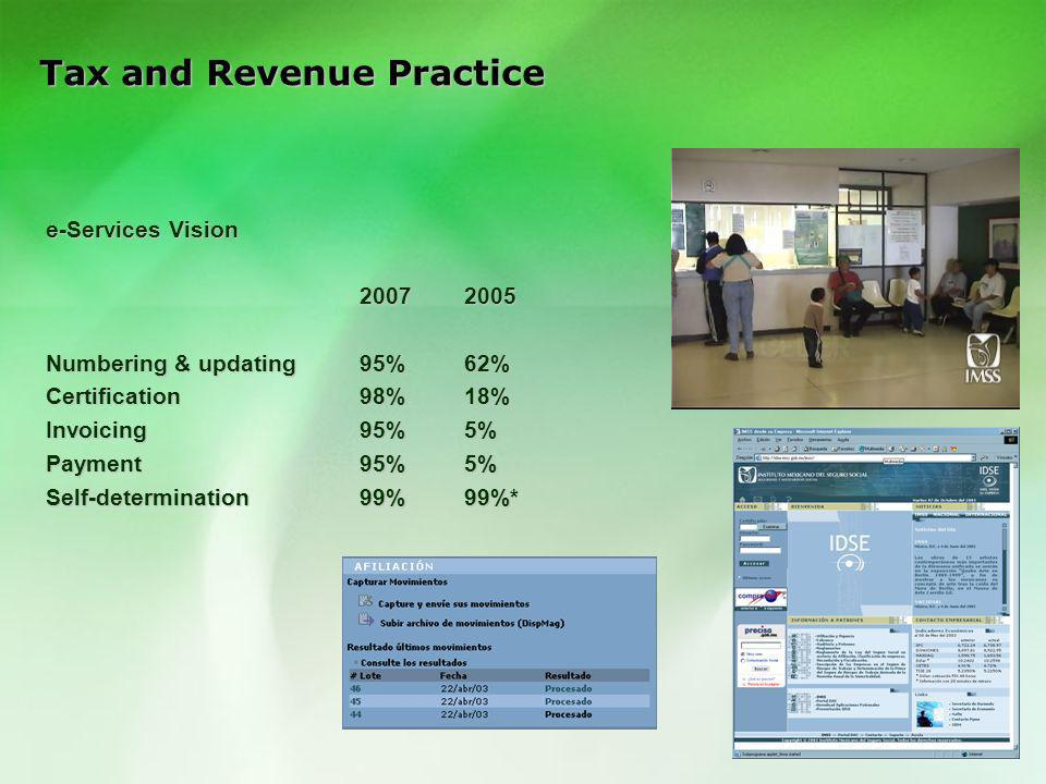 Tax and Revenue Practice