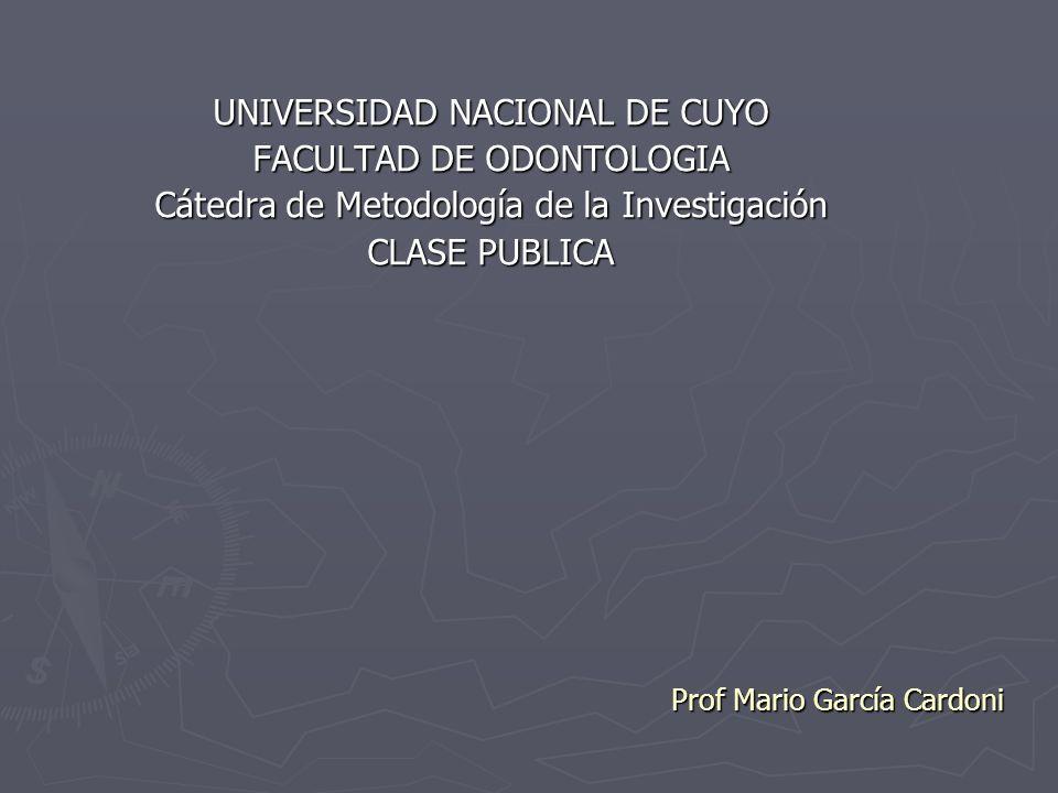 Prof Mario García Cardoni
