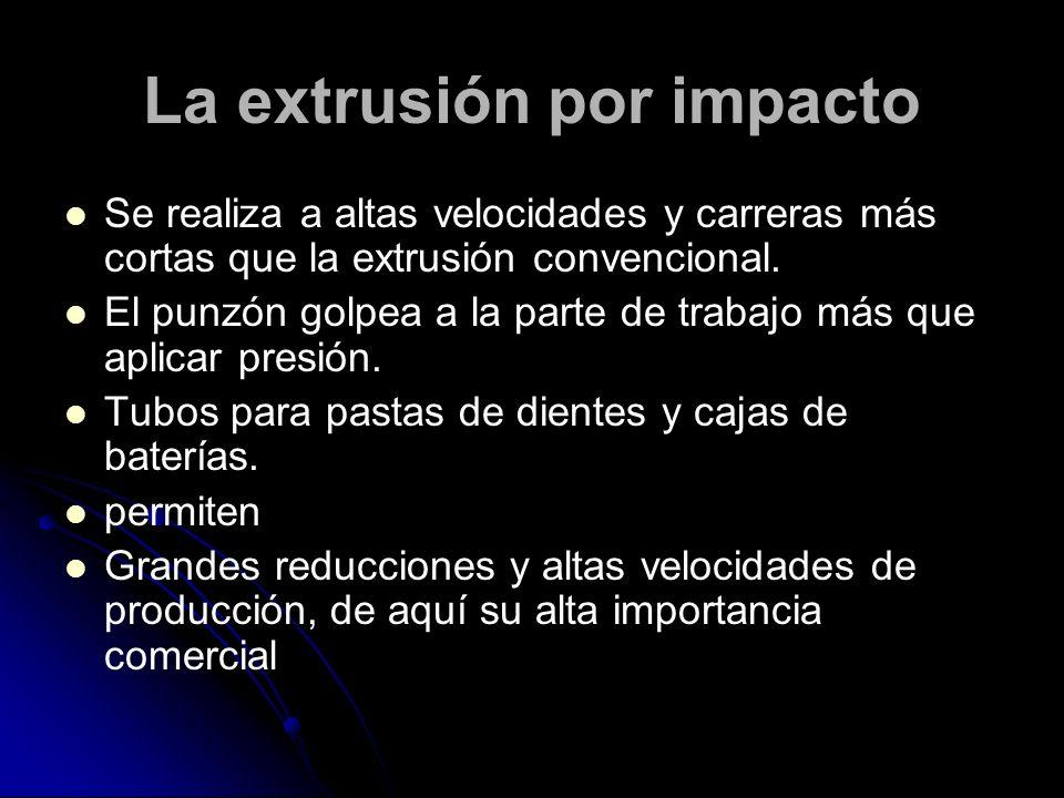 La extrusión por impacto