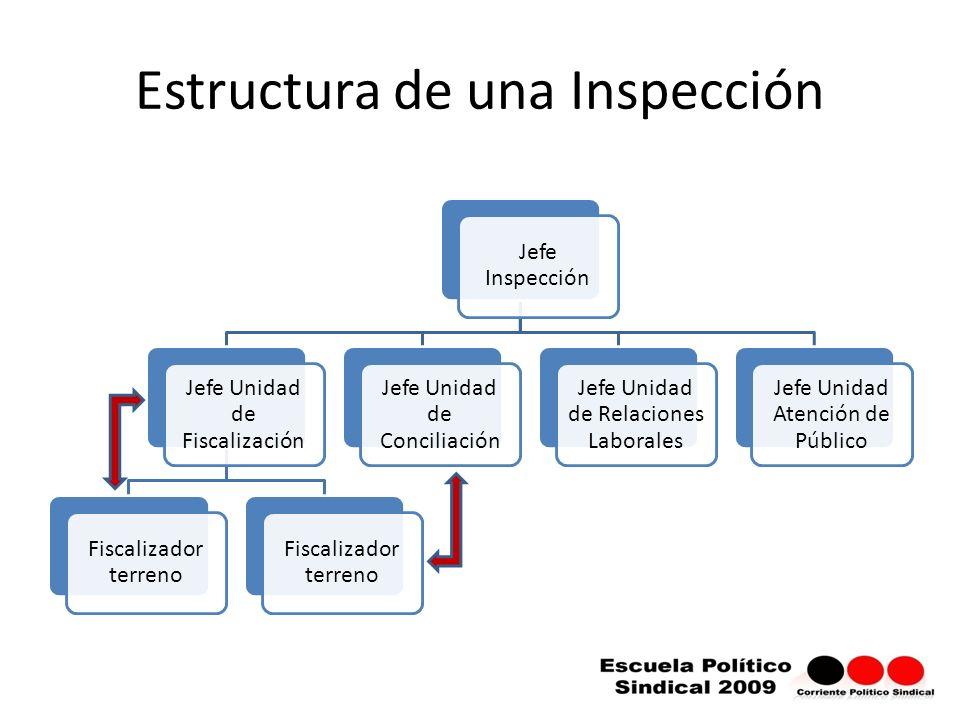 Estructura de una Inspección