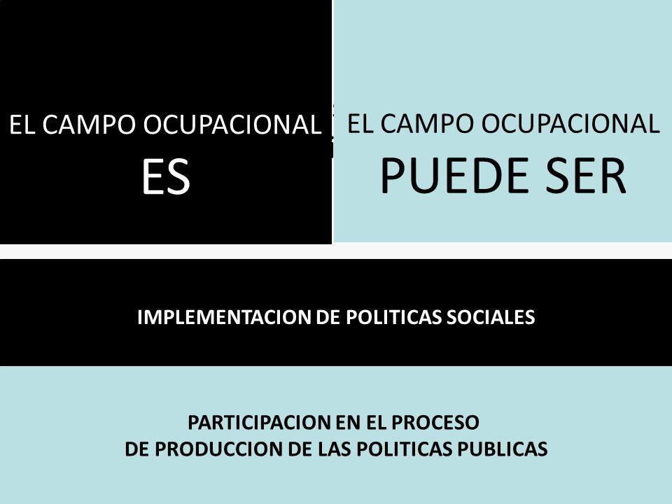 ES Fases en el proceso de producción de la política pública