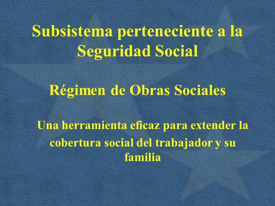 Subsistema perteneciente a la Seguridad Social