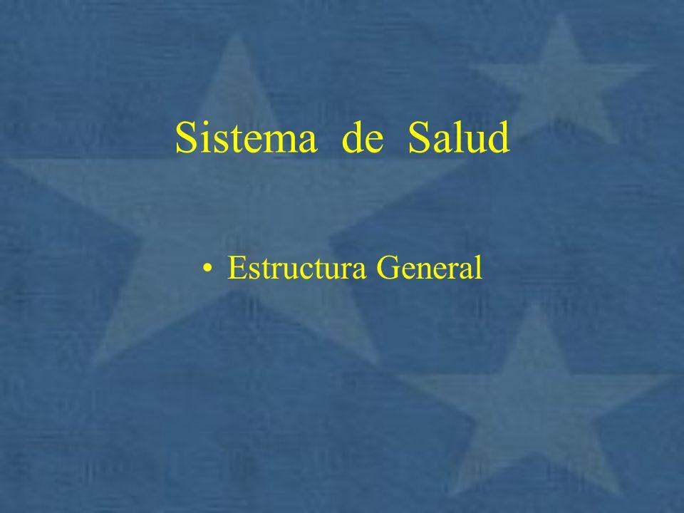 Sistema de Salud Estructura General
