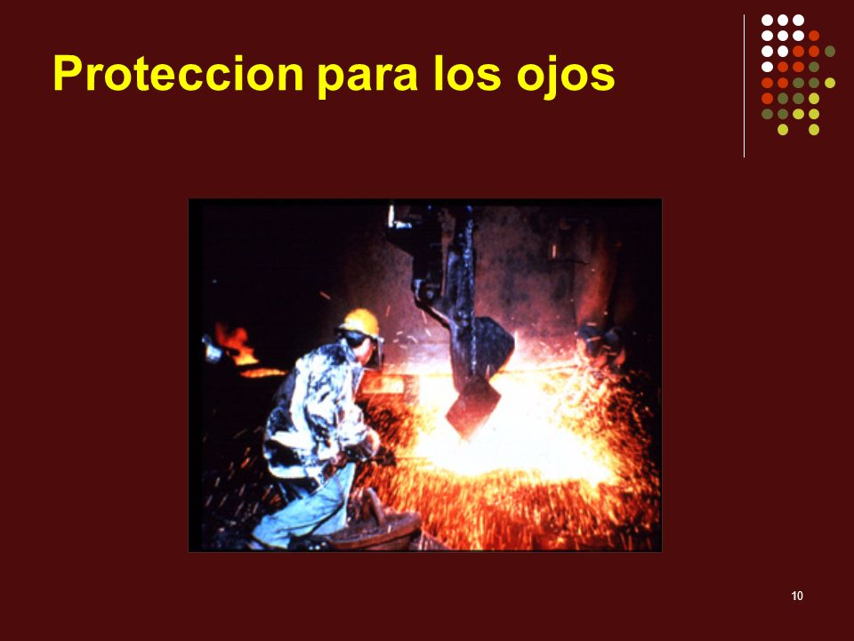 Proteccion para los ojos